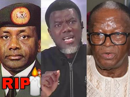 Those Threatening Me With Death Should Note That Sani Abacha Threatened Oladipo Diya —Reno Omokri