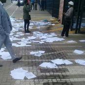 People Left Heartbroken After Bloemfontein Centlec Threw Away People's CVs Like They Were Litter