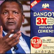 Dangote Breaks Silence Over Alleged Exploitation Of Nigerians, Read What He Said About Cement Price