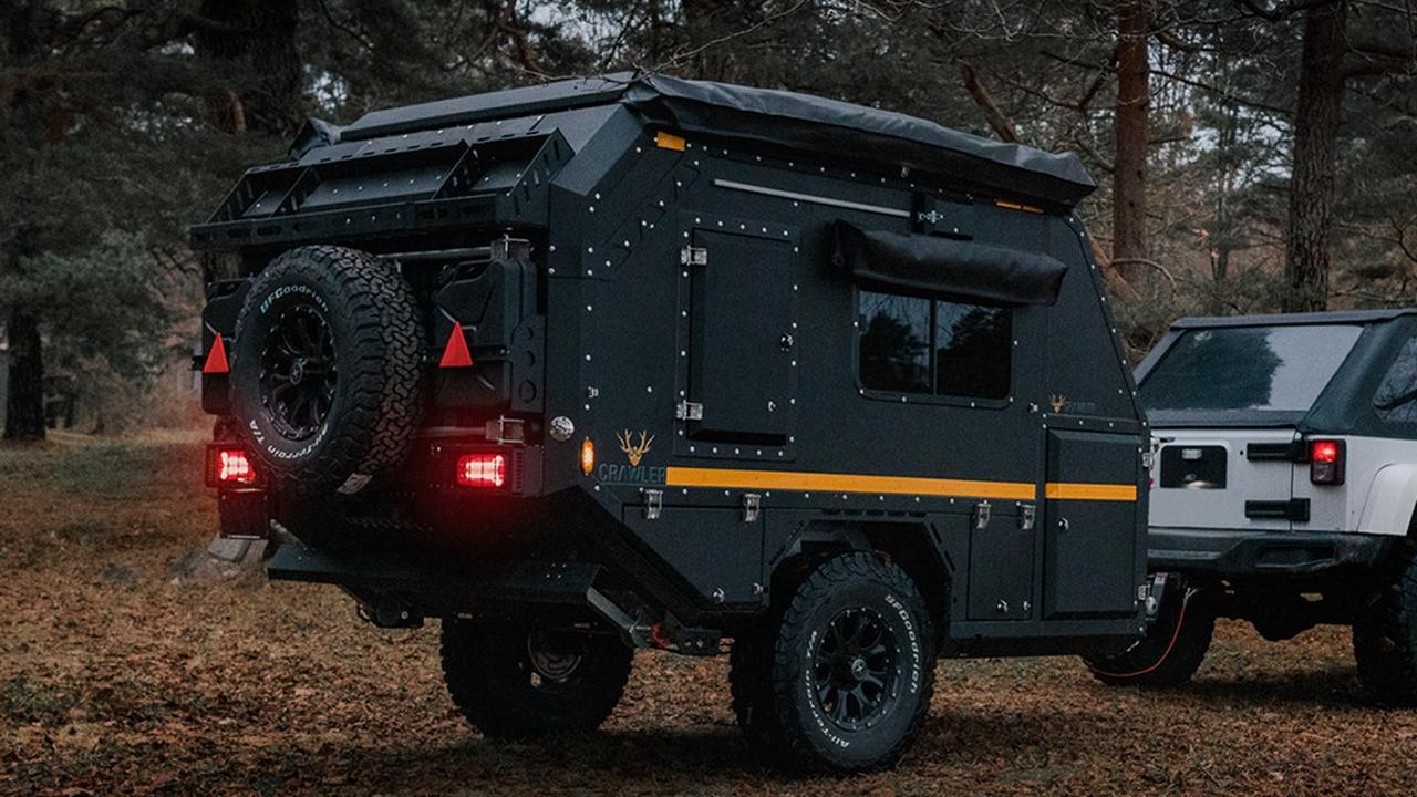 This Capable Off-Road Camper Trailer Can Tackle Any Terrain In Its Way
