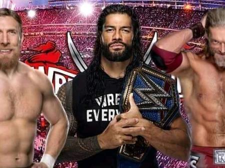 A Triple Threat Is Officially The Main Event Of Wrestlemania 37.