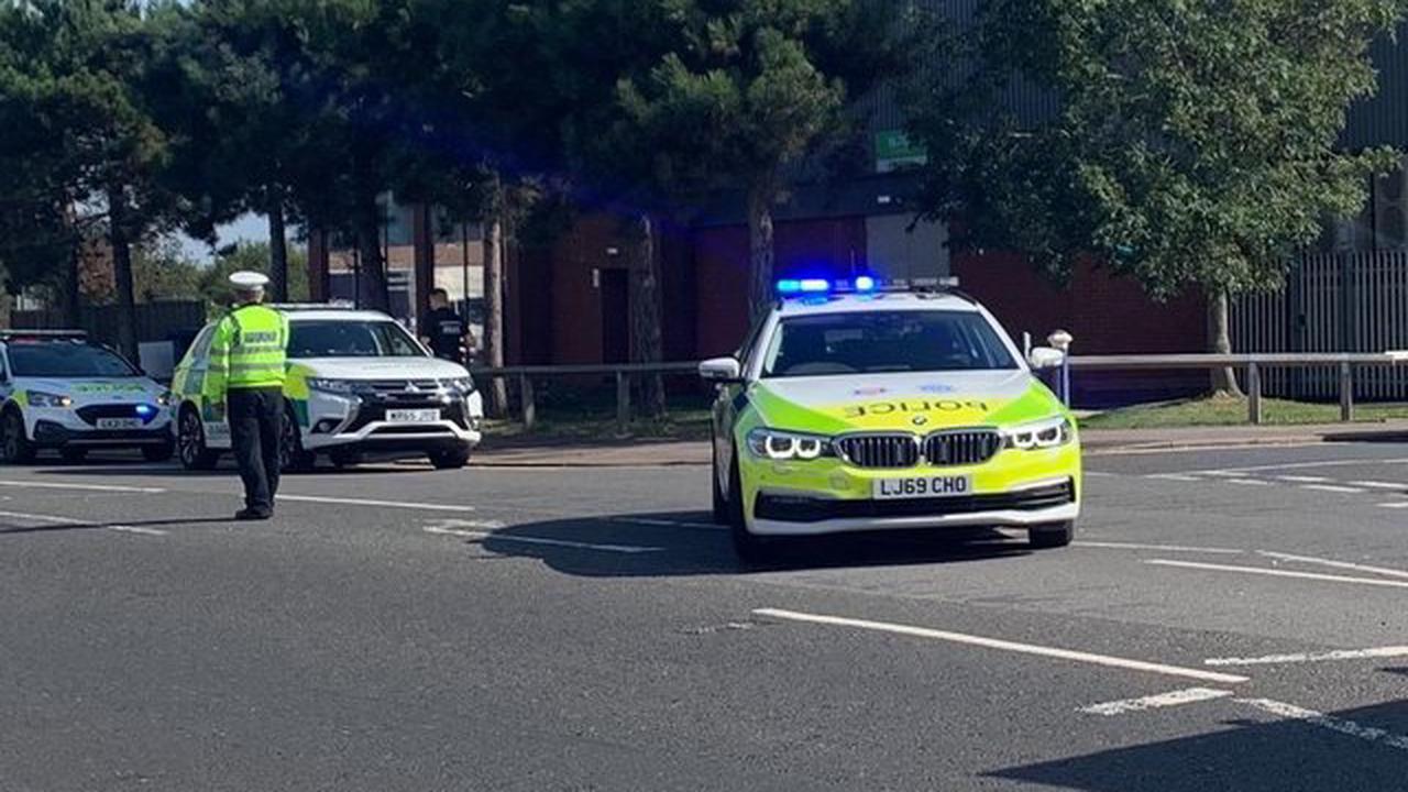 Eastbourne carriageway temporarily closed due to collision