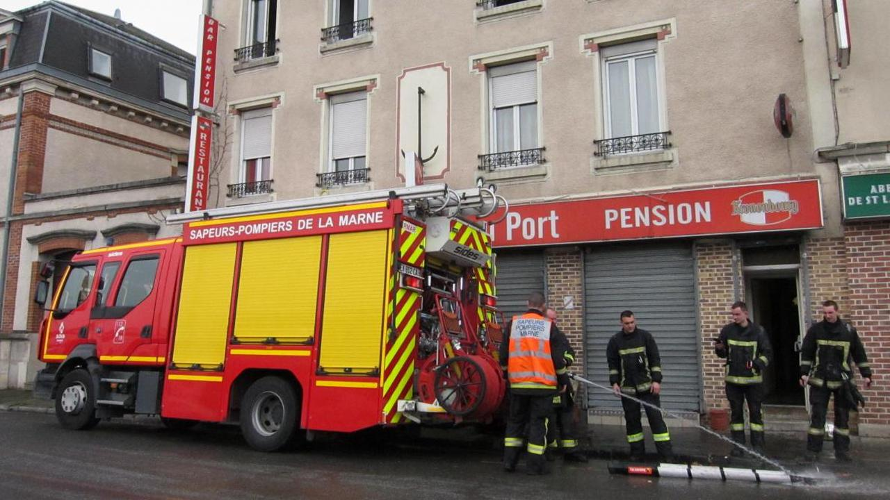 Une chambre prend feu dans un hôtel de Reims