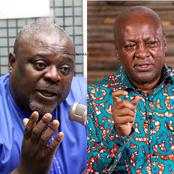 Massive reactions as more details about the cause of the feud between Mahama and Koku is revealed