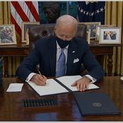 Check Out What Biden Has Done Since He Became The President Of The United States Of America