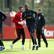 Good News As Ole Gunnar Solskjaer Provides Positive Updates On Paul Pogba's Recovery.