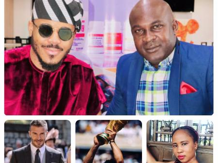 Ozo at 28, You're Greater than Maradona, Beckham when They Were at Your Age - Lady Praises Ozo