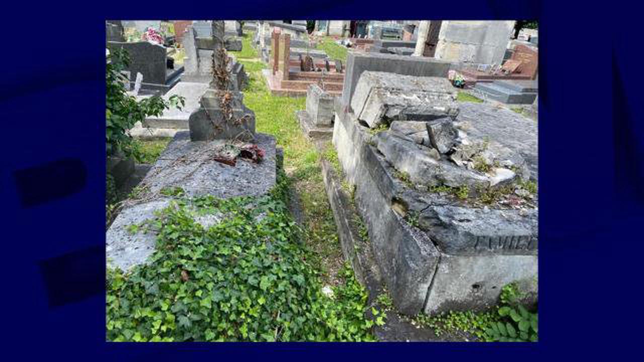 Seine-Saint-Denis: plusieurs tombes du cimetière de Stains profanées, une enquête ouverte