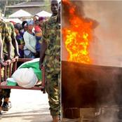 Today's Headlines: Army Buries Commanding Officer Killed By Boko Haram, Petrol Tanker Explodes