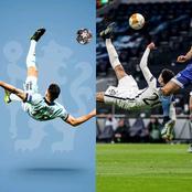 Comparing Giroud Over Head Kick Vs Dele Alli Over Head Kick After Tottenham Won On Wednesday