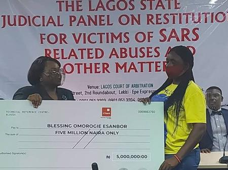 #ENDSARS: Widow, three others get N16m as Lagos panel awards compensations to victims