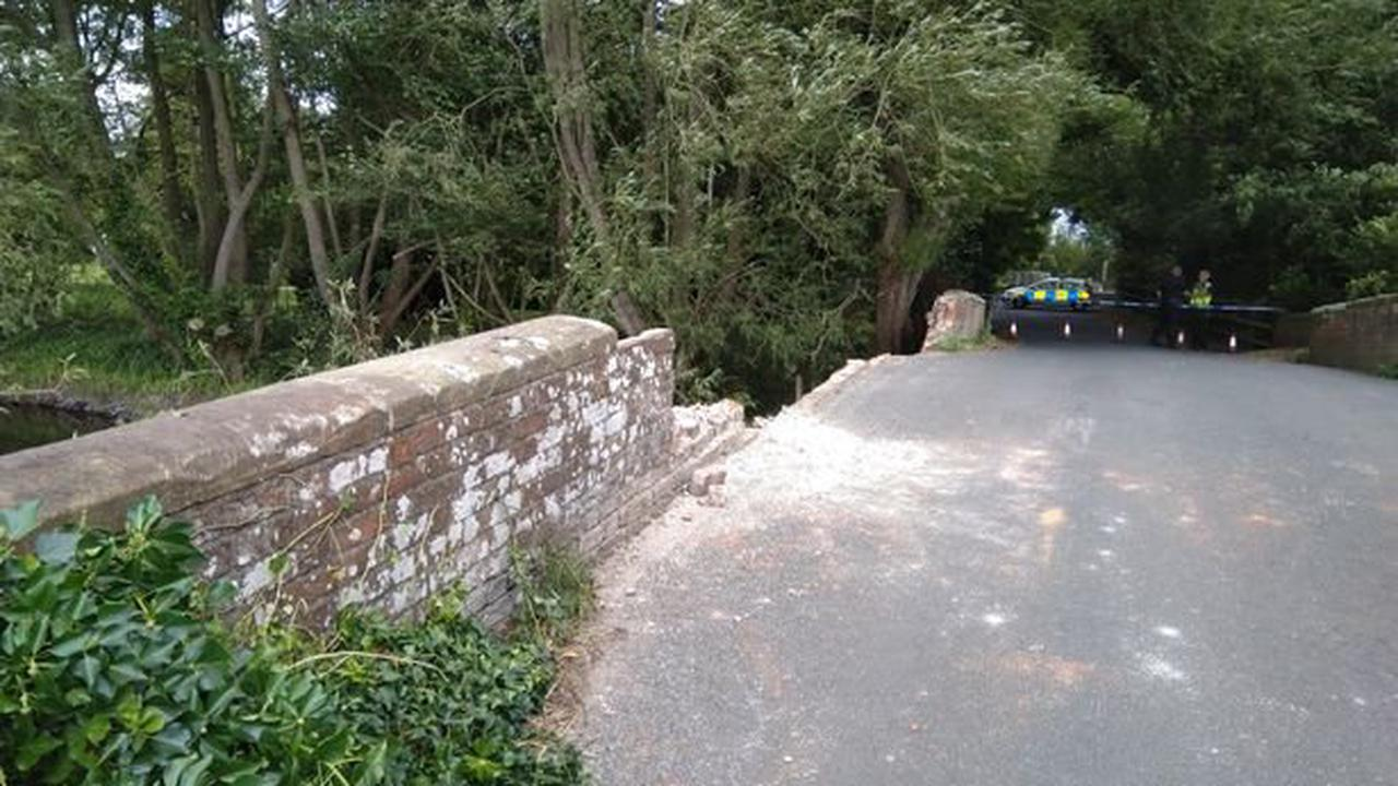 Major bridge shut for five weeks as essential repairs carried out