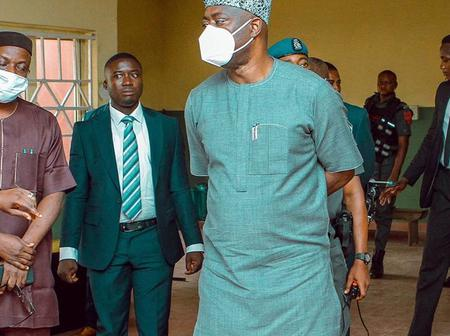 Governor Seyi Makinde Expresses Shock/Concern As He Paid A Surprise Visit To High School In Ibadan