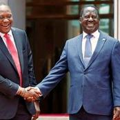 President Uhuru Planning For A Meeting With Raila Odinga Amidst Dp Ruto Re-union Speculations.