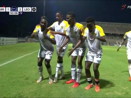 Black Leopards won 2-1 against Golden Arrows as Mohammed Anas scored a double.(Opinion)