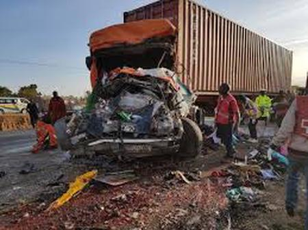 Four People died In A Horrific Road Accident
