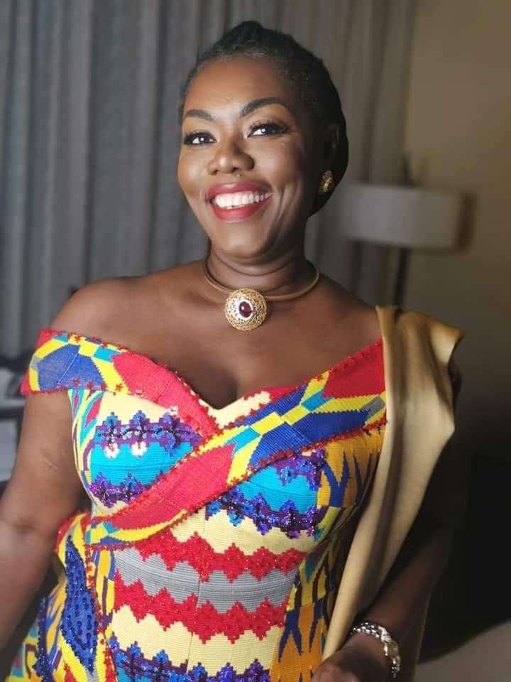 0815b59841de4696a8fc4cf31a5fb589?quality=uhq&resize=720 - See How These Beautiful MPs Dazzled In Their Kente At The Inauguration Ceremony (Photos)