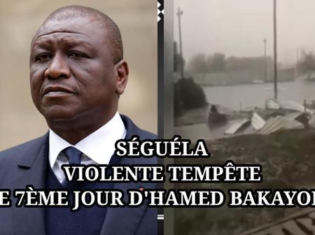 Séguéla: deux jours après l'inhumation de Hambak, une curieuse tempête fait des dégâts