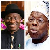 After Jonathan's Response On 2023 Bid, What Obasanjo Said Concerning Him 3 Years Ago Resurfaces