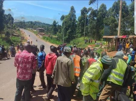 Accident along Igege-Kegogi Road Kisii