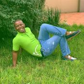 Tbose from Skeem Saam left fans in stitches with his legendary poses while posing for his granny