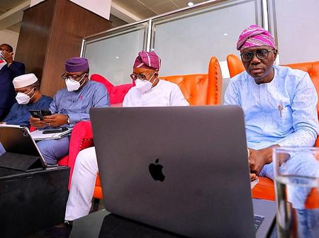 Photos of Governors that missed Bola Tinubu's Colloquium in Kano, Gives reason for their Absence.