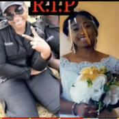 Tears Flow As Police Woman Who Also Works As A Nurse Dies Few Days After Her Wedding In Dormaa