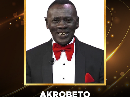 Akrobeto wins overall Entertainment Personality of the Year award