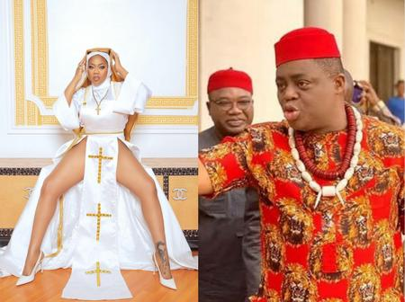 After Toyin Dressed In A Nun Outfit, See What Femi Fani Kayode Said