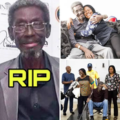 The Nigerian Actor Who Died Yesterday, See Photos Of His Wife And His Family He Left Behind