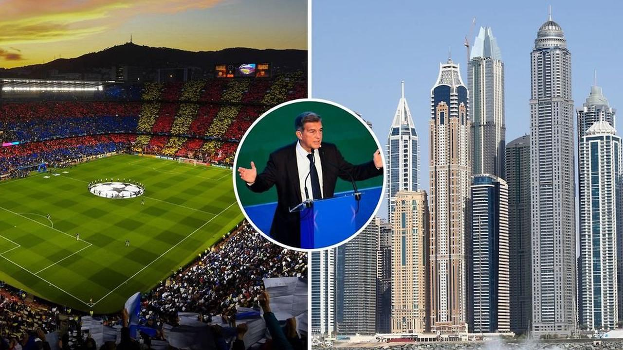 Barcelona debt: La Liga giants reportedly receive £1.2 billion offer from Dubai
