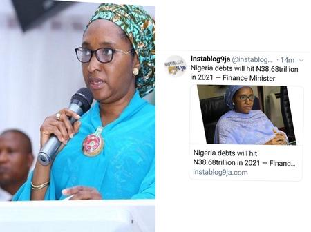 See How Nigeria debts Might Hit N38.68trillion in 2021
