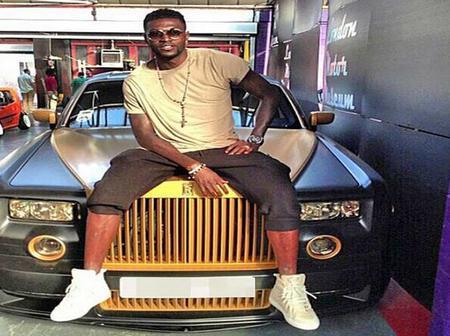Money is good As Togolese footballer Adebayor shows his 2020 achievement