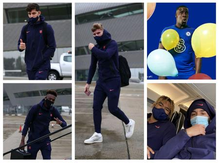 [PHOTOS] Chelsea Players Travel To Russia, Fans React As Zouma Turns 26