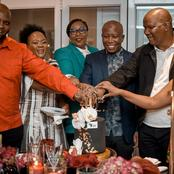 Malema had it all Lavish on his birthday, See what happened?