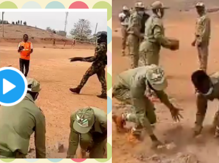Check Out What This Corps Members Where Doing That Stir Reaction On Social Media