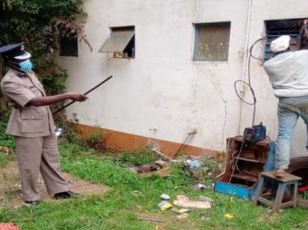 Police Service Jeopardised As 6 Suspects Escape From Custody in A Cell in Kiambu County