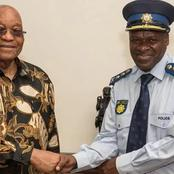 Ramaphosa is considering to suspend the police boss