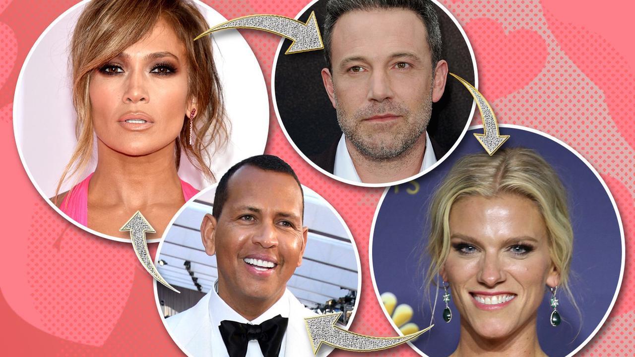 J-Lo's ex A-Rod spotted with Ben Affleck's former love Lindsay Shookus