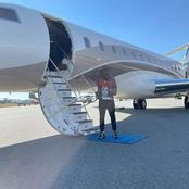 Davido Arrives Los Angeles For Lunch