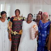 Hommage-Magistrature suprême/  Femmes de la plateforme AGC à ADO: