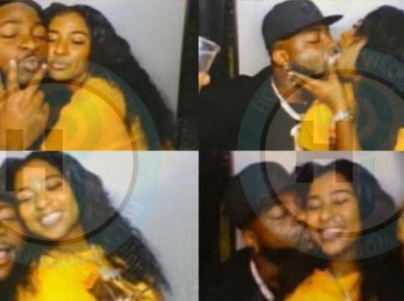 Davido reacts to viral photos of him and his alleged new girlfriend