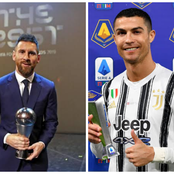 Days After Messi Won La Liga Player Of The Month, See The Award Cristiano Ronaldo Clinched Yesterday