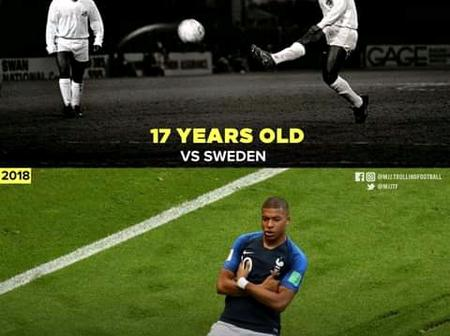 Football History: See The Only Players To Score In A FIFA World Cup Final As Teenagers
