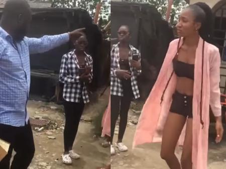 After She Begged This Pastor To Stop, See What He Continued Doing That Got People Talking Online(Video)