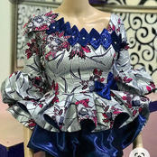 50 Trendy And Stylish Native Tops For Beautiful Mummies