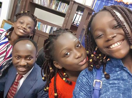 Apostle Johnson Suleman is 50 today, check out lovely photos of his wife and children