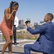 Man proposes with 5 expensive wedding rings.