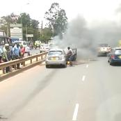 My Conclusion After The Today's Accident Along Thika Road: Every Man For Himself God For Us All