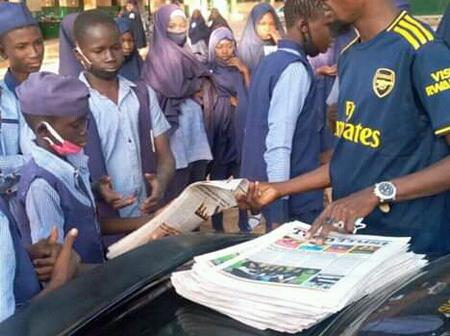 See what the S. A to the Yobe State governor on social media gave to students as part of learning